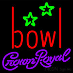 Crown Royal Bowling Alley Neon Sign 9 0001 16x16