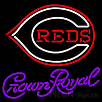 Crown Royal Cincinnati Reds MLB Neon Sign 3 0005 24x24