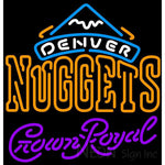 Crown Royal Denver Nuggets NBA Neon Sign 2 0008