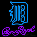 Crown Royal Detroit Tigers MLB Neon Sign 3 0004 16x16