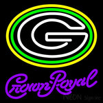 Crown Royal Green Bay Packers NFL Neon Sign 1 0010 16x16