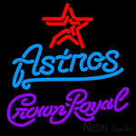 Crown Royal Houston Astros MLB Neon Sign 3 0006 16x16
