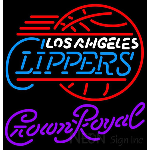 Crown Royal Los Angeles Clippers NBA Neon Sign 2 0008
