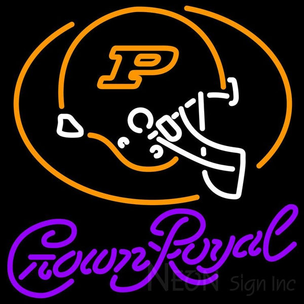Crown Royal Purdue University Calumet Neon Sign 4 0013