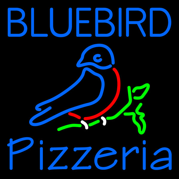 Custom Bluebird Pizzeria Neon Sign 5