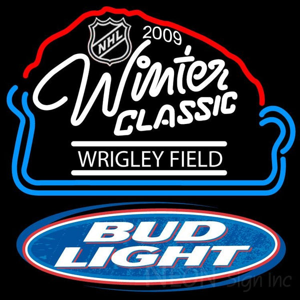 Bud Light 2009 NHL Winter Classic Neon Sign 1