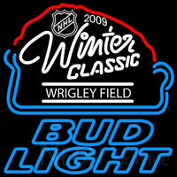 Bud Light 2009 NHL Winter Classic Neon Sign 2