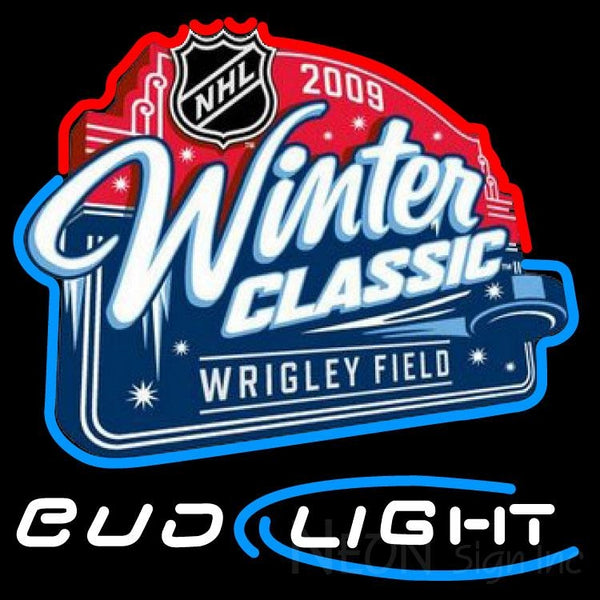 Bud Light 2009 NHL Winter Classic Neon Sign 5