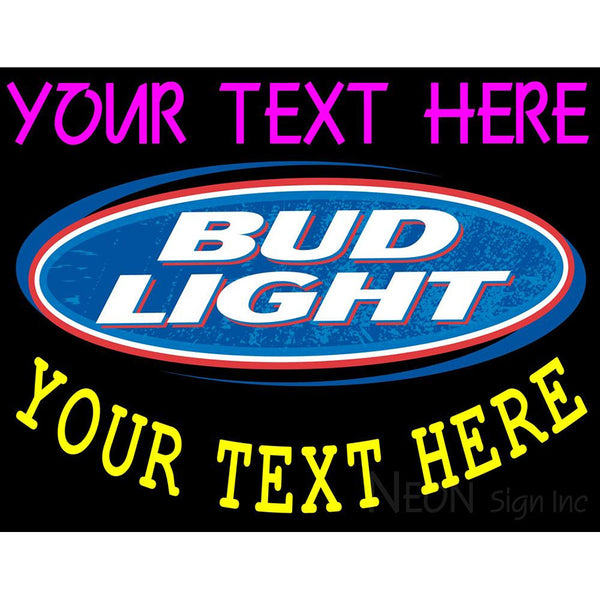 Custom Bud light Neon Beer Sign 10