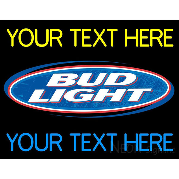 Custom Bud light Neon Beer Sign 1