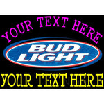 Custom Bud light Neon Beer Sign 4