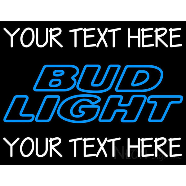 Custom Bud light Neon Beer Sign 6