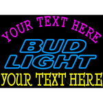 Custom Bud light Neon Beer Sign 8