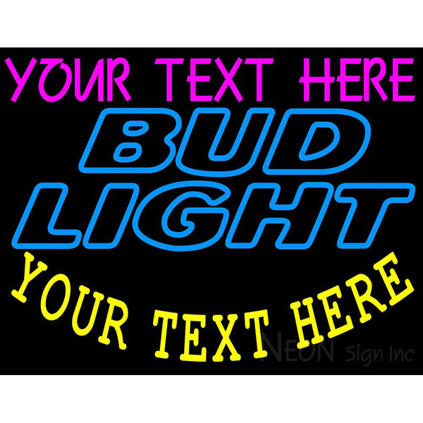 Custom Bud light Neon Beer Sign 9