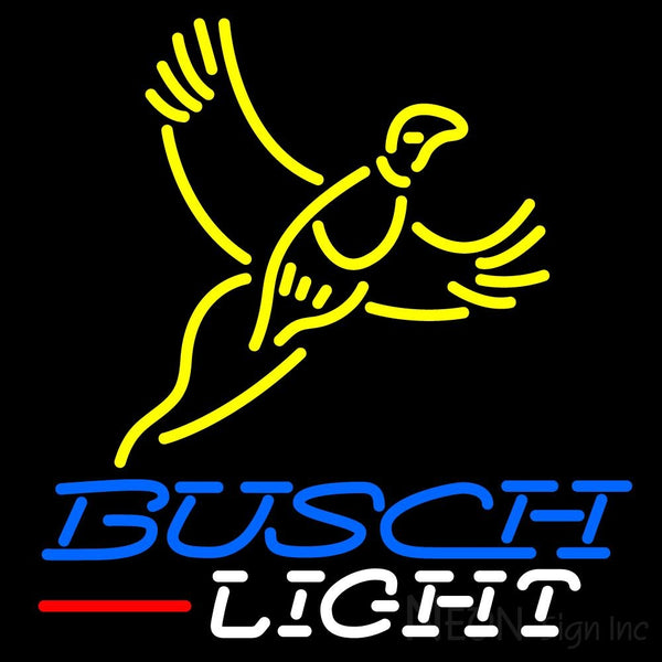Blue Busch Light Pheasant Neon Sign