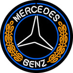 Merchedes Benz Neon Sign