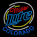 Miller Lite Colorado Neon Sign