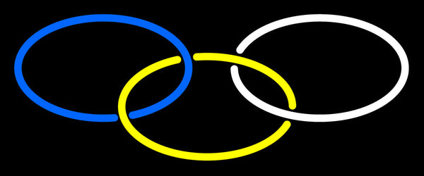 Custom Olympic Rings Neon Sign