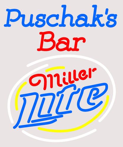 Custom Puschak Bar Neon Sign 15