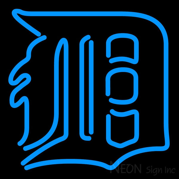 Detroit Tigers MLB Neon Sign