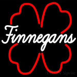 Finnegans And Clover Neon Sign 16x16