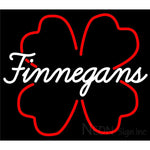 Finnegans And Clover Neon Sign 24x22
