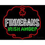 Finnegans Green Logo Neon Sign