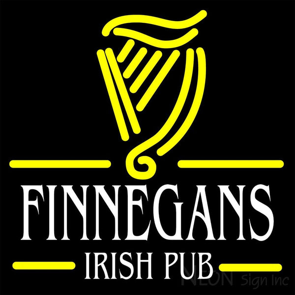 Finnegans Irish Pub Neon Sign 16x16