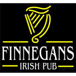 Finnegans Irish Pub Neon Sign 24x22