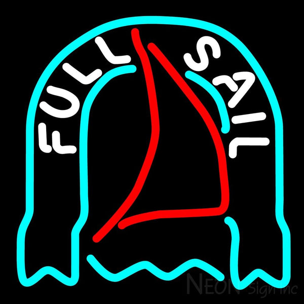 Fosters Full Sail Neon Beer Sign 16x16