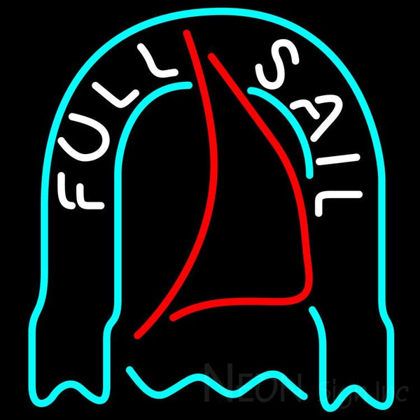 Fosters Full Sail Neon Beer Sign 24x24