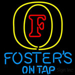 Fosters On Tap Neon Beer Sign 24x24