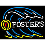 Fosters Tidal Wave Neon Beer Sign