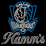 Hamms Dallas Mavericks NBA Neon Beer Sign