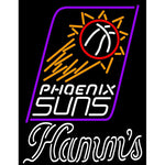 Hamms Phoenix Suns NBA Neon Beer Sign