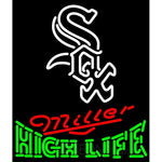 High Life Chicago White Sox MLB Neon Sign 3 0012
