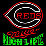 High Life Cincinnati Reds MLB Neon Sign 3 0008
