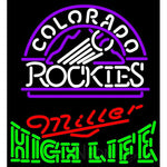 High Life Colorado Rockies MLB Neon Sign 3 0009