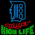 High Life Detroit Tigers MLB Neon Sign 3 0009
