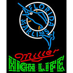 High Life Florida Marlins MLB Neon Sign 3 0009