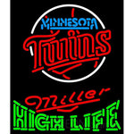 High Life Minnesota Twins MLB Neon Sign 3 0015