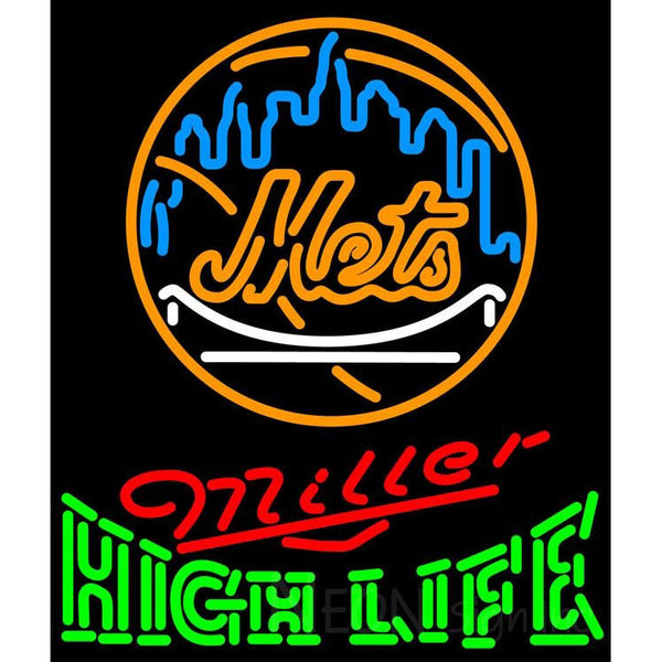 High Life New York Mets MLB Neon Sign 3 0015
