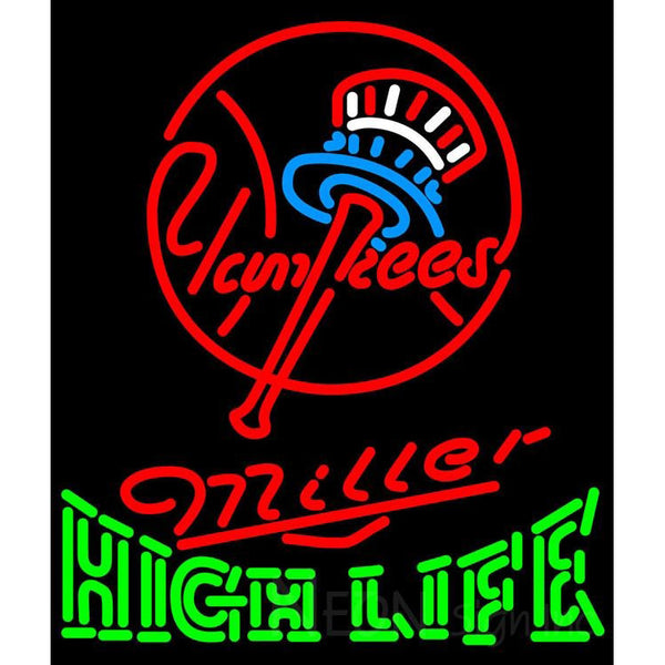High Life New York Yankees MLB Neon Sign 3 0018