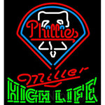 High Life Philadelphia Phillies MLB Neon Sign 3 0015