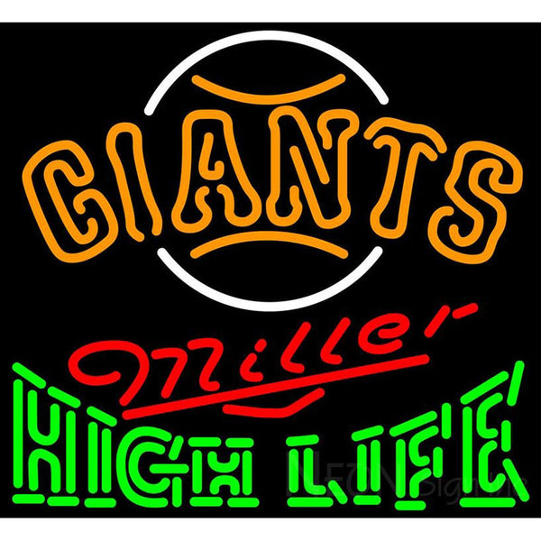 High Life San Francisco Giants MLB Neon Sign 3 0015
