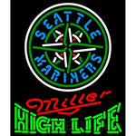 High Life Seattle Mariners MLB Neon Sign 3 0012