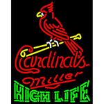 High Life St Louis Cardinals MLB Neon Sign 3 0013