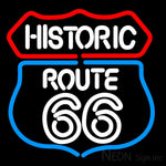 Historic Route 66 Neon Sign 16x16