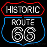 Historic Route 66 Neon Sign 24x24