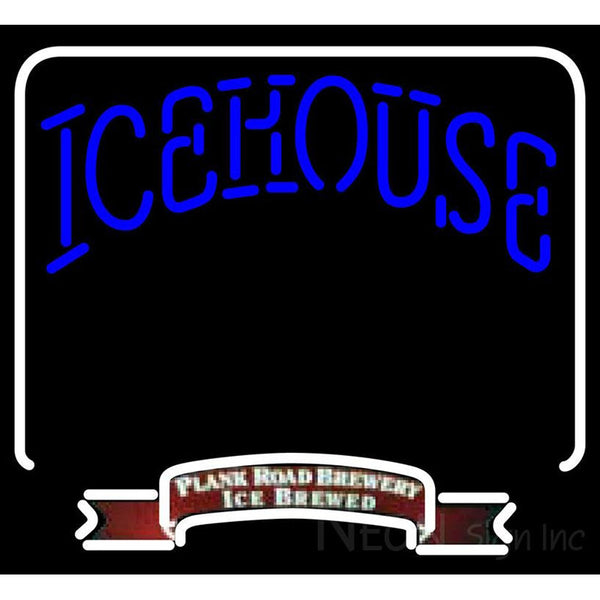 Icehouse Backlit Brewery Neon Beer Sign 24x22